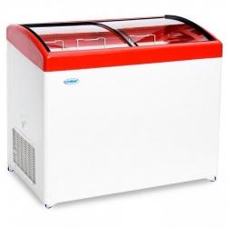 Ларь морозильный МЛГ-400  (красный)