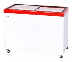 Ларь морозильный МЛП-400  (красный)