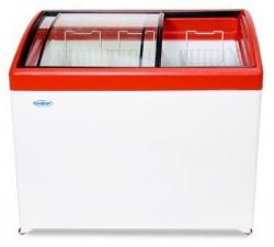 Ларь морозильный МЛГ-350 (красный)