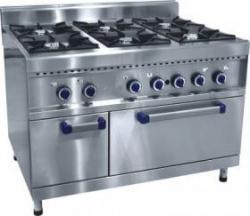 Плита газовая 6-ти горелочная ПГК-69-ЖШ с газовой духовкой